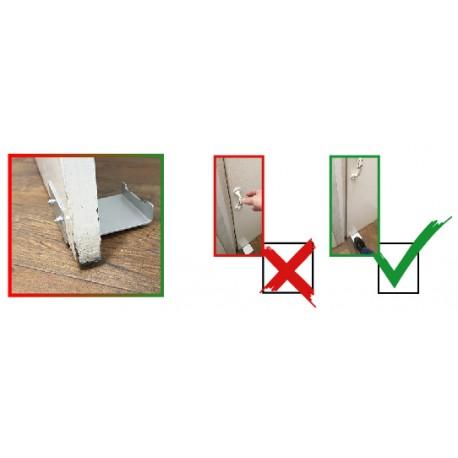 Hands free door opening kit
